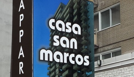 wall sign for company montreal